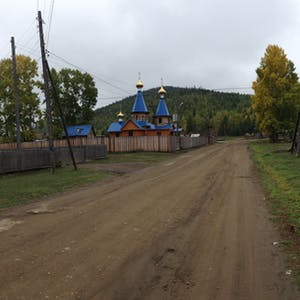 St. Seraphim of Sarov's Funky Orthodox Church.