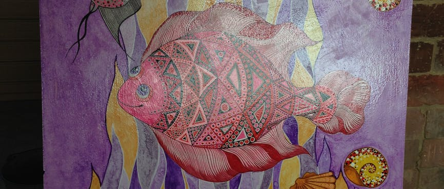 Happy fish.