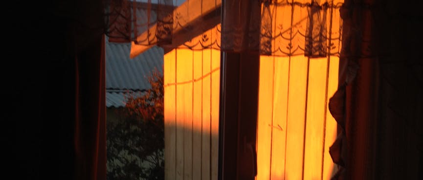 The sublime sunrise.