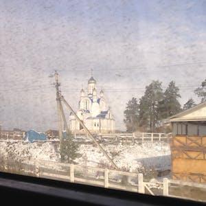Frozen church.