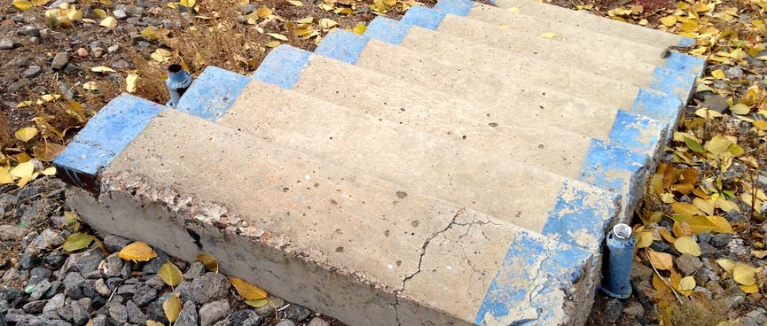 A small set of concrete steps which don't lead anywhere.