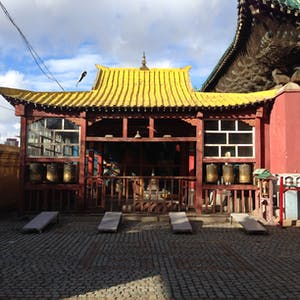 Shakyamuni Buddha complex.