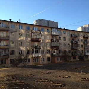 Older apartments.