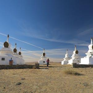 Stupas!