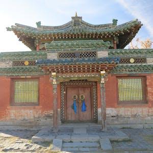The temple of the Dalai Lama.