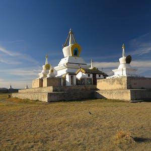 Stupa central.