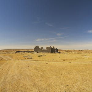 Deserted desert.