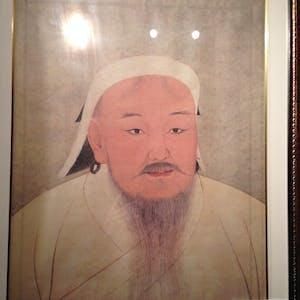 Genghis Khaan (ruled 1206-1227).