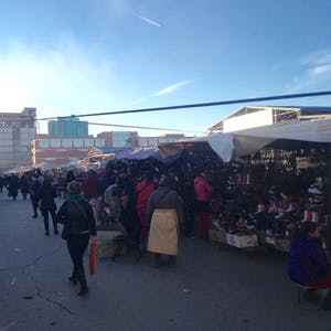 The sprawling Naran Tuul 'black' market.